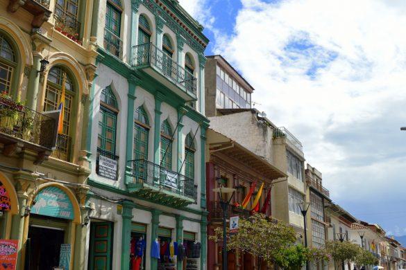 Cuenca historical street