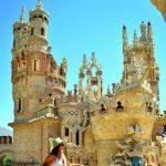 Castillo Monumento Colomares, Malaga,İspanya