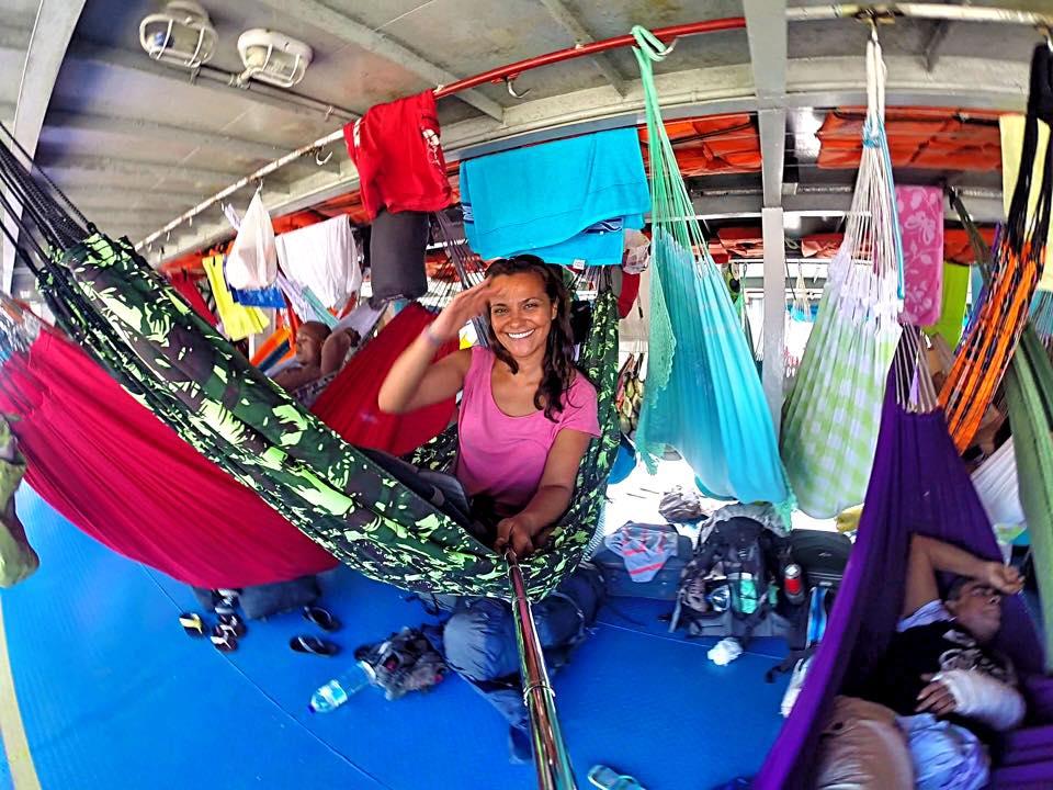 Amazon nehri bot gezisi hamak konaklama