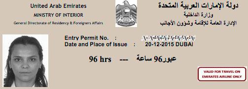 Birlesik Arap Emirlikleri Vizesi