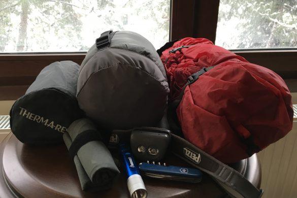 Sırt Cantası Kamp Malzemeleri