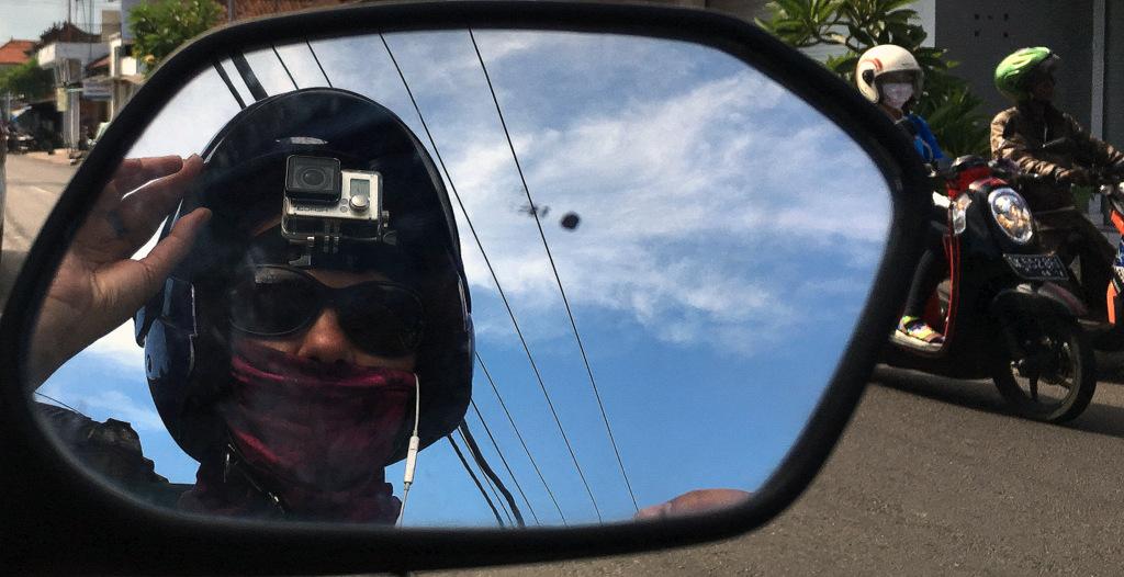 Bali' de motosiklet kiralama