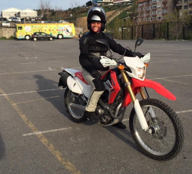 Motosiklet ile north cape