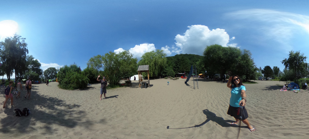 Hamburg Elbe kamp alanı