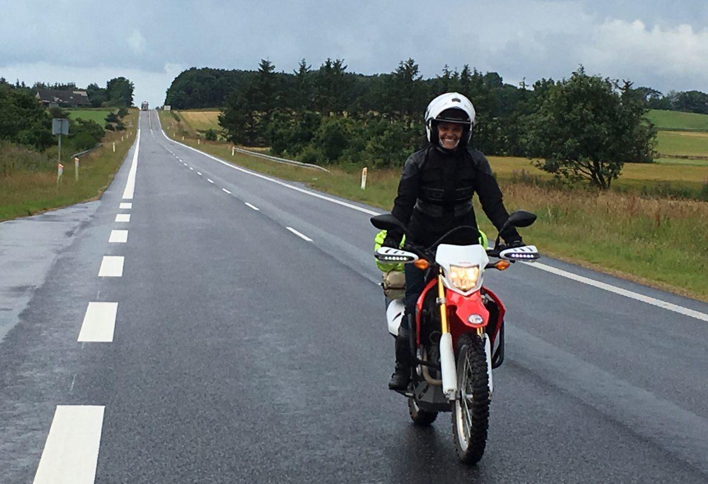 motosikletle sıfır tecrübeyle dünya turu