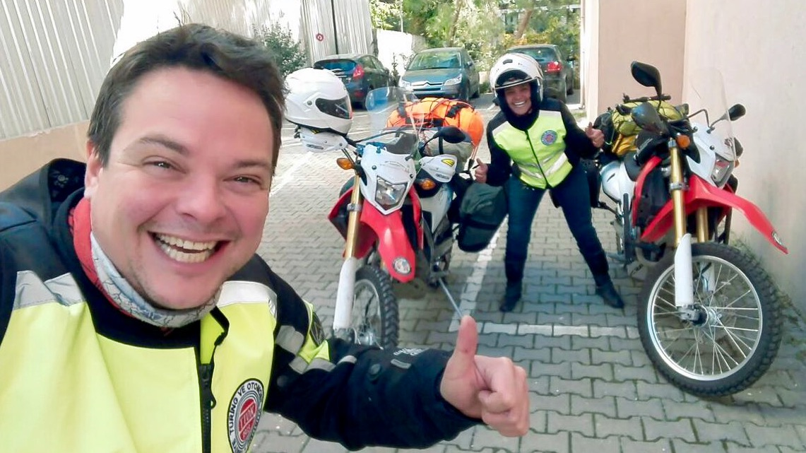 Motosiklet ile dünya turu