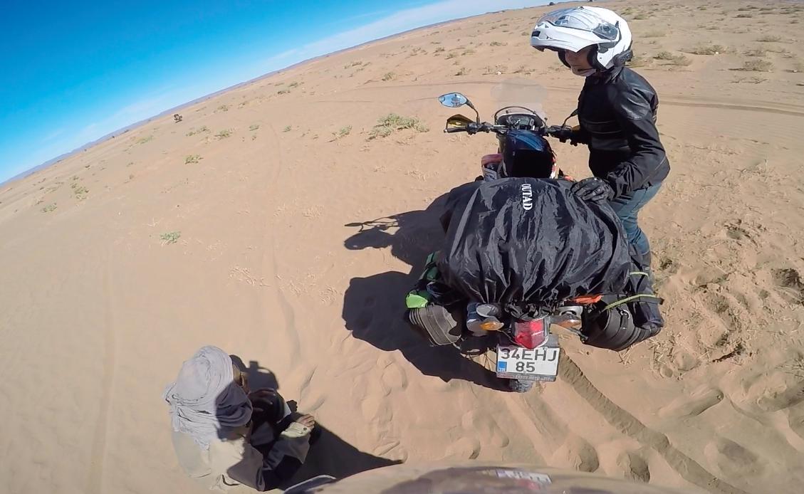Sahara Çölü Yol Tarifi