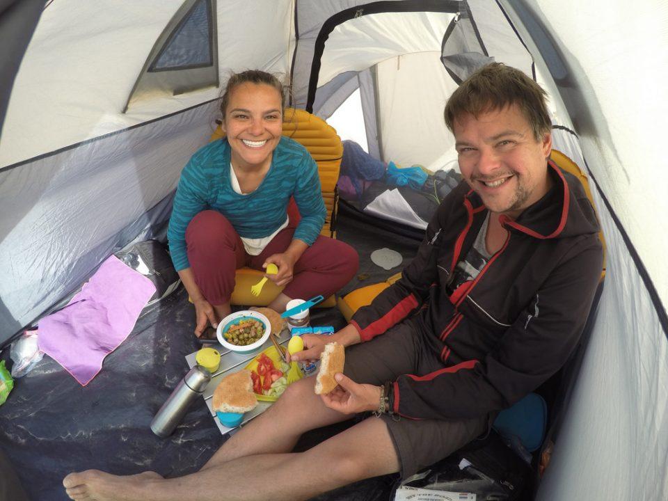 gezerken çadırda yaşam