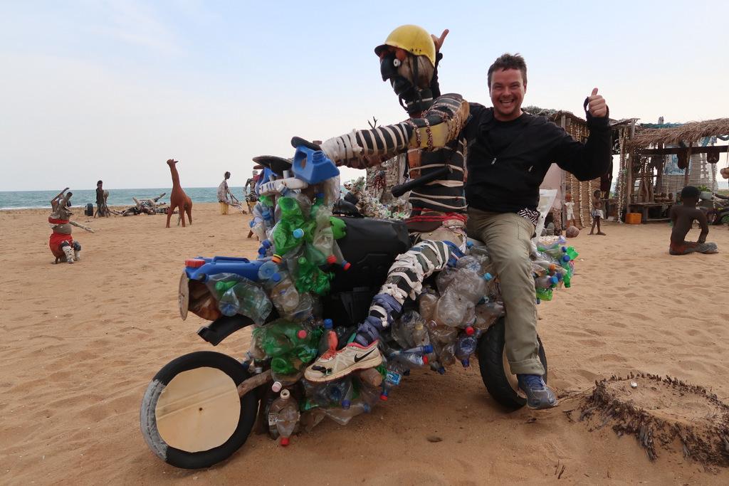 Motosikletle Afrika Gezisi, CRF250L