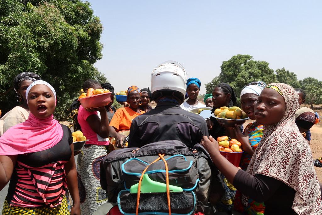 Motosikletle Batı Afrika Turu