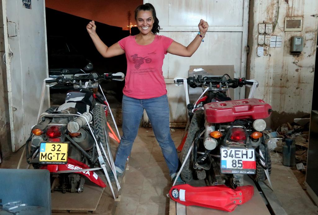 Motosikletle Afrika Turu