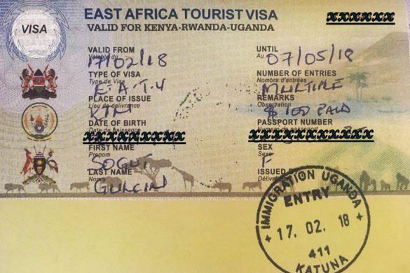 Sınır kapısında vize veren Afrika ülkeleri