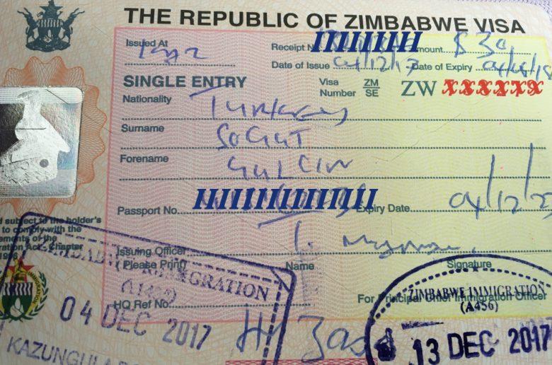 Zimbabve - Zambiya Vizesi Nereden Alınır?