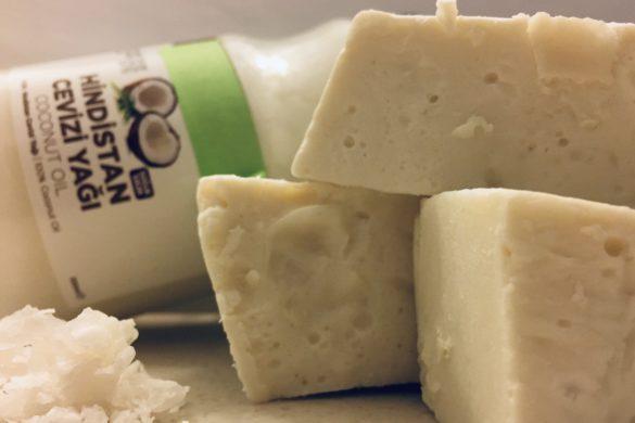 hindistan cevizli sabun şampuan yapımı
